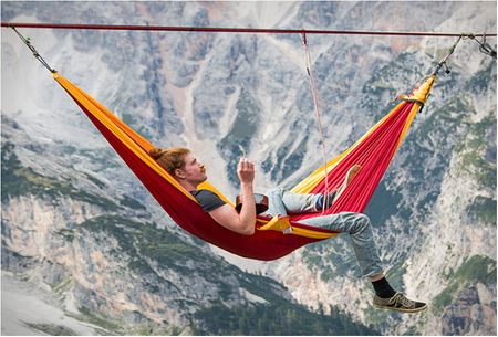 Finest travel with the portable parachute hammock