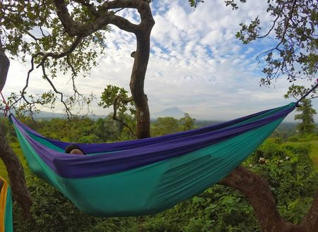 Makes double-parachute-hammock-as-a-gift