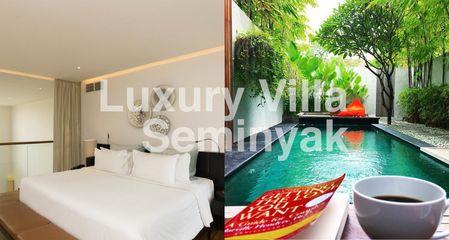 Best luxury villas in Seminyak with private pool and spacious bedroom