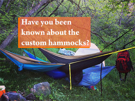 Getting to know about custom hammocks that give you choices
