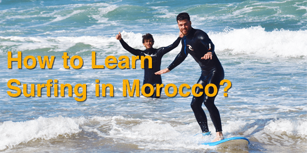 Interesting way to learn about surfing in Morocco