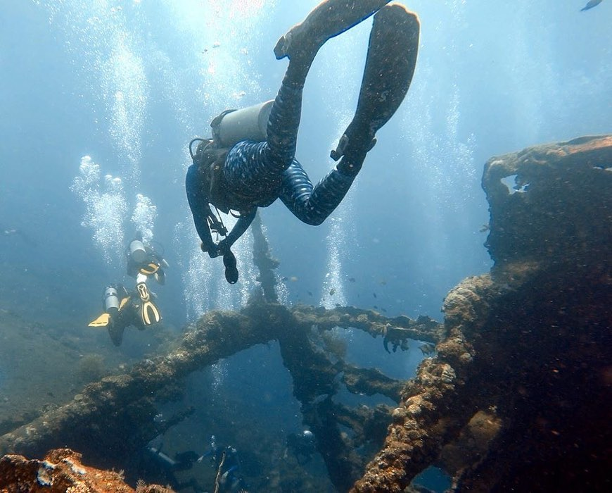 What to Consider Before Going fro Wreck Diving in Bali