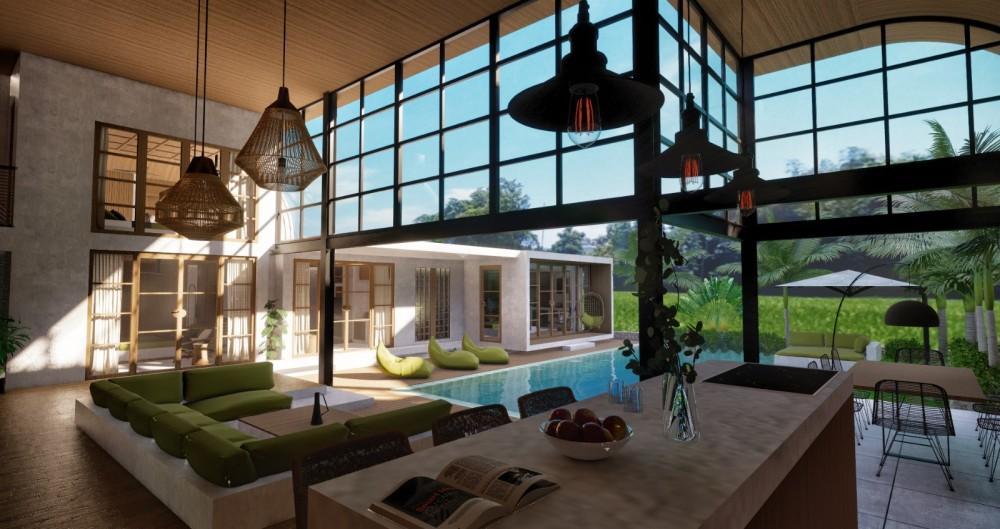 Luxury Bali Villas for Sale Living Room