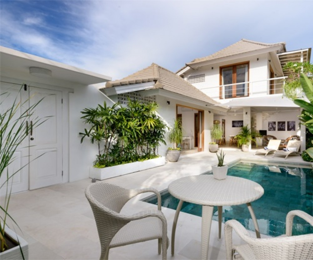 Sanur villas with a private pool, perfect for retirement
