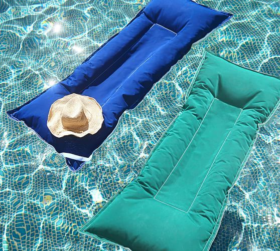 An Inflatable Pool Lounger